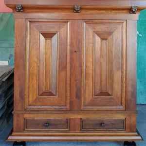 Гардероб с две врати и две чекмеджетата  – дъб, внос от Холандия