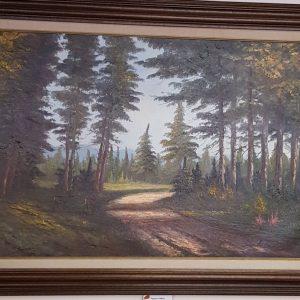 Картина с маслини бои – L Blumdal