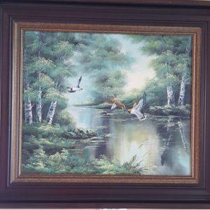 Картина с маслини бои – Jack – English painter