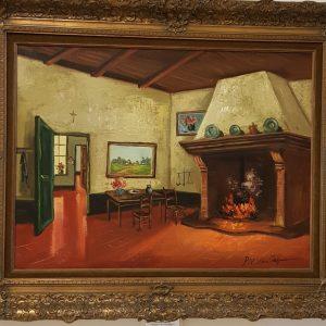Картина с маслени бои от P. V . Van Jepra