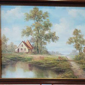Картина с маслени бои на платно