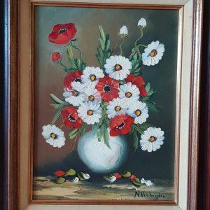 Картина с маслeни бои – N. Verheijen