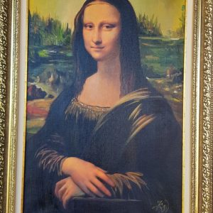 Картина с маслени бои – La Gioconda, Leonardo da Vinci – reproduction