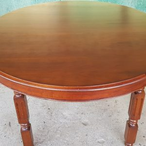 Трапезна маса – кръгла