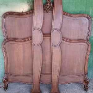 Антична френска спалня производство края на 19 век, 1.40/200 см.