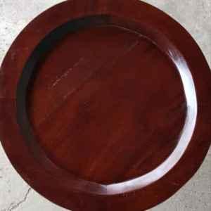 Маса за кафе – чай, кръгла  с поднос, внос от Индонезия