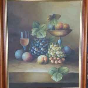Картина с маслени бои на платно,произведена в Холандия