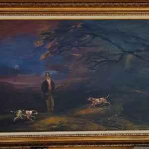Картина с маслини бои на платно – репродукция, собствено производство