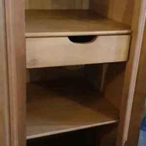 Гардероб стил Луи 14-ти с 4 врати, дъб, внос от Белгия