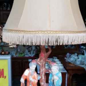 Нощна лампа мотив с двама азиатци, внос от Белгия