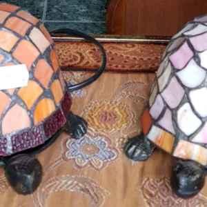 Лампа Тифани – костенурка, нова – внос от Холандия