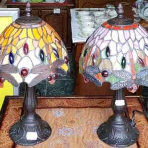 Лампа Тифани в класически стил, нова, внос от Холандия