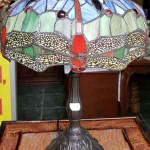 Лампа Тифани в класически стил, нова – внос от Холандия