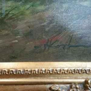 Картина с маслени бои на платно от Harrie Koolen, Holland