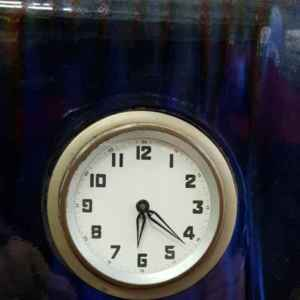 Настолен класически часовник – порцелан,  внос от Белгия