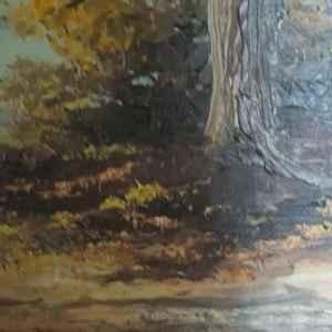 Картина с маслени бои на платно от известен английски художник Hunt, 20th century,  England