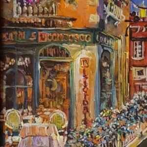 Картина с маслени бои на платно – репродукция,  собствено производство