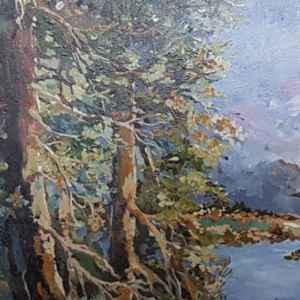 Картина с маслени бои на платно – репродукция Наличност,  собствено производство