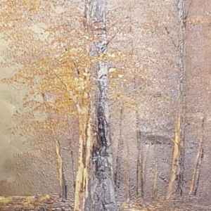 Картина с маслени бои на платно от известен немски художник M. Schneider,  20th century,  Германия