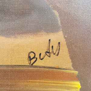 Картина с маслени бои на платно от Betu, still Life20th century,  внос от Нидерландия.