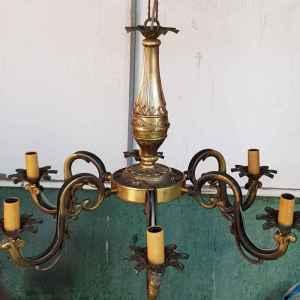Полилей с шест броя крушки,  внос от Белгия