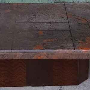 Холова маса с мрамор, внос от Нидерландия