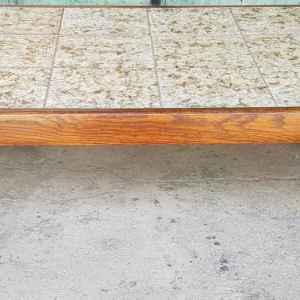 Холова маса, дъб с плочки,  внос от Нидерландия