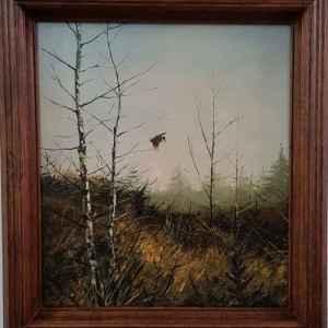 Картина с маслени бои на платно от Evtluk, 20th century, внос от Нидерландия
