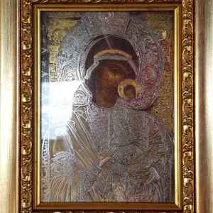 Чудотворната икона Света Богородица на Успение Богородично – Бачковската Света Обител, репродукция