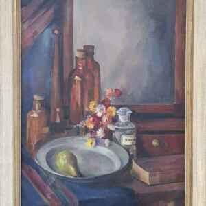 Картина с маслени бои на платно от Stilleven – Haagse school, внос от Нидерландия
