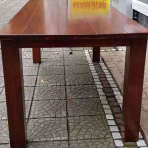 Трапезна маса, правоъгълна,  масив-махагон, внос от Белгия