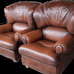 Комплект от два бр.фотъйли от естествена кожа,  внос от Белгия