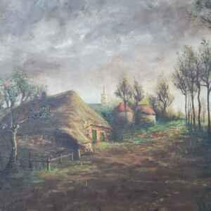 Картина с маслени бои на платно от Bumers, 20th century,  внос от Белгия