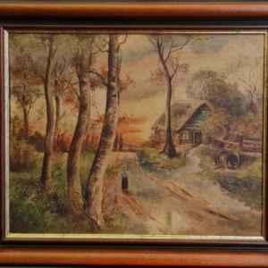 Картина с маслени бои на платно от T.van Reeth, 20th century – Нидерландия