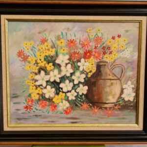 Картина с маслени бои на платно от Stof van Beylen, 20th century, внос от Белгия