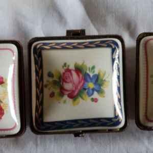 Малка кутия за бижута, порцелан и бронз,  нови, внос от Германия