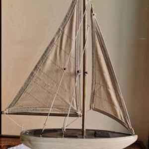 Макет на кораб – платноходка от дърво, нова, внос от Нидерландия