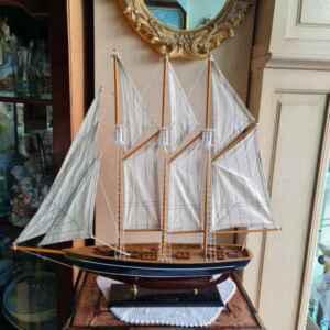 Макет на тримачтов кораб – Marco Polo, дърво, нов, внос от Нидерландия.