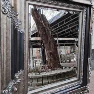 Огледало с фасет и барокова рамка, нова, внос от Германия