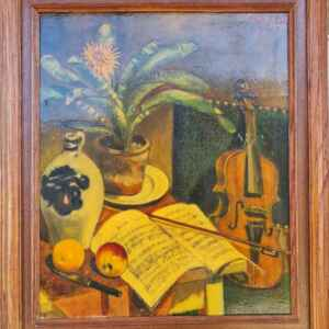 Картина от известен нидерландски художник P.Van.Stipdonk, производство през 1940 год, внос от Нидерландия.