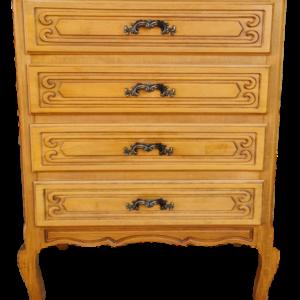 Шкаф в стил Луи 14-ти,  четири броя чекмеджета, дъб внос от Белгия.