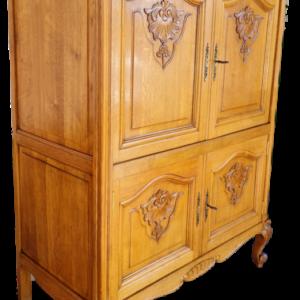 TV шкаф в стил Луи 14-ти,  дъб внос от Белгия