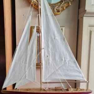 Макет на кораб от дърво, внос от Нидерландия
