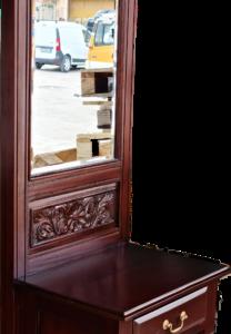 Нов шкаф с огледало внос от Нидерландия