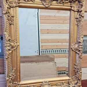 Огледало в стил барок – златен ефект,  с фасет,  внос от Германия