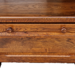 Шкаф  – ракла с две врати, дъб-масив, внос от Белгия