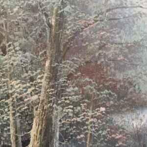 Картина с маслени бои на платно от известен английски художник Mason внос от Белгия.