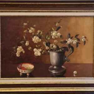 Картина с маслени бои на платно от известен нидерландски художник H. Grifel внос от Нидерландия.