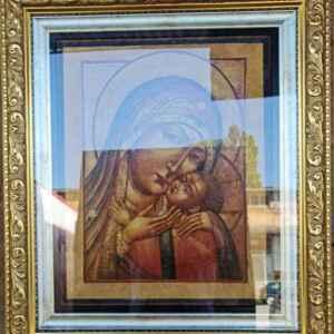 Светата Майка с Младенеца  – Казанската Света Богородица, собствено производство.