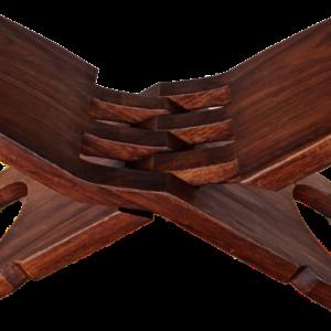 Сгъваем стол от масив-орех, производство Мексико, внос от Нидерландия.